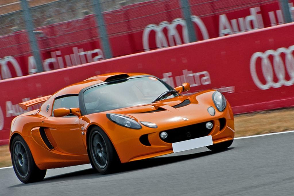 Lotus Exige S circuit Bugatti Le Mans