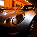 Lotus Elise tunnel sous la Manche