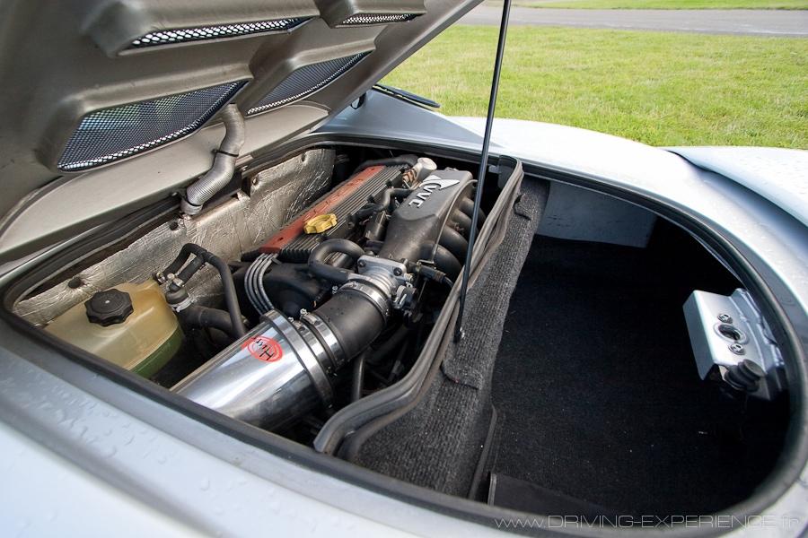 Le Rover K en position centrale / transversale arrière