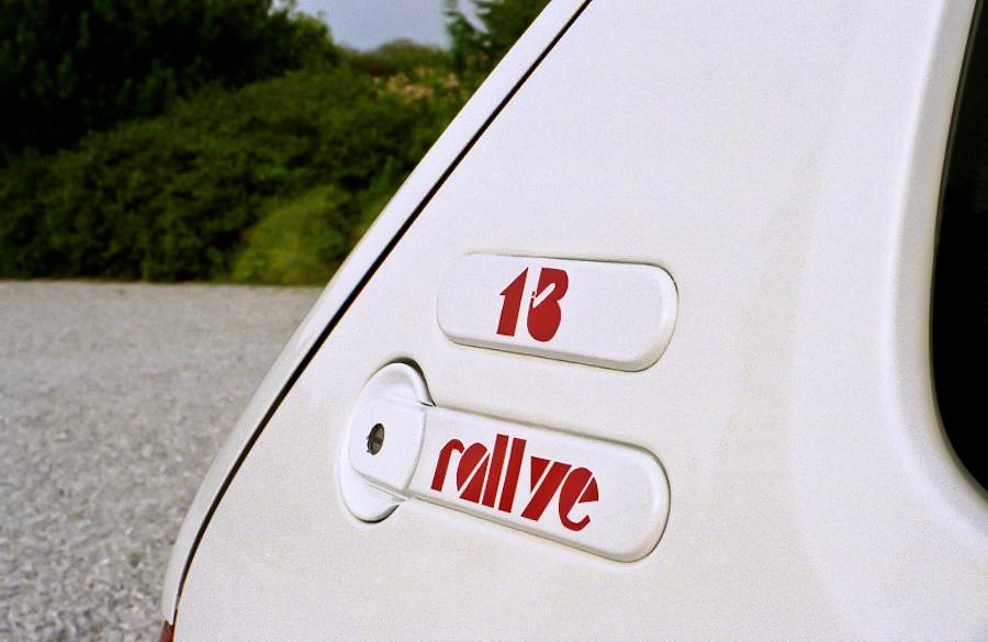 1.3 Rallye, c'est écrit dessus !