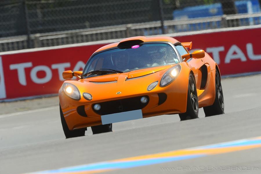 Un vrai plaisir de pilotage sur piste cette Lotus Exige