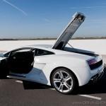 Accès moteur Lamborghini Gallardo