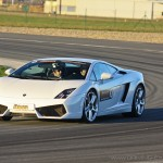 Lamborghini Gallardo sur circuit