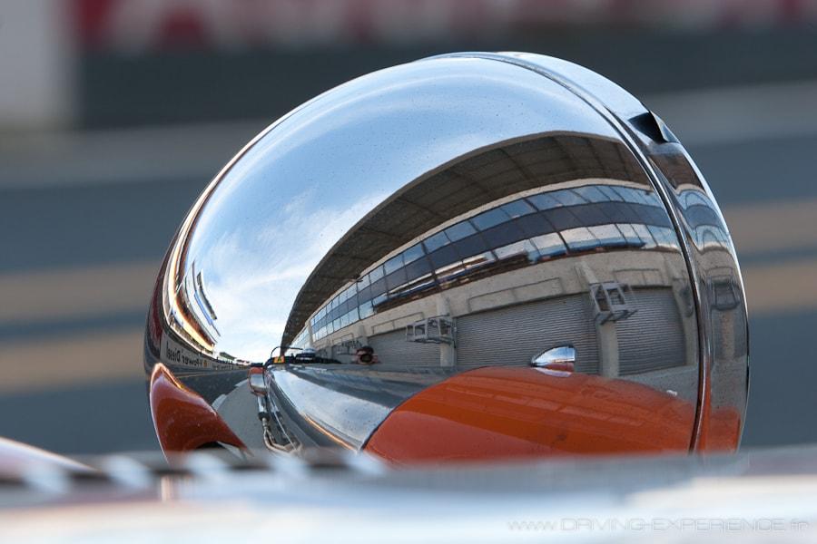 Caterham Seven Orange Mécanique - détails -