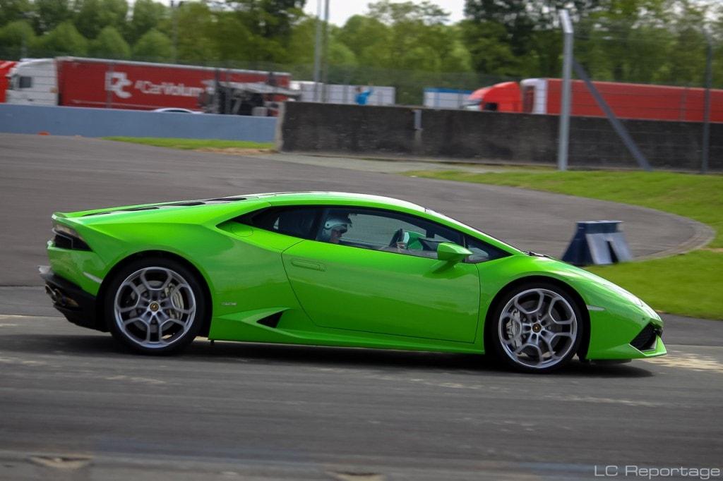 Lamborghini Huracan circuit Maison Blanche au Mans
