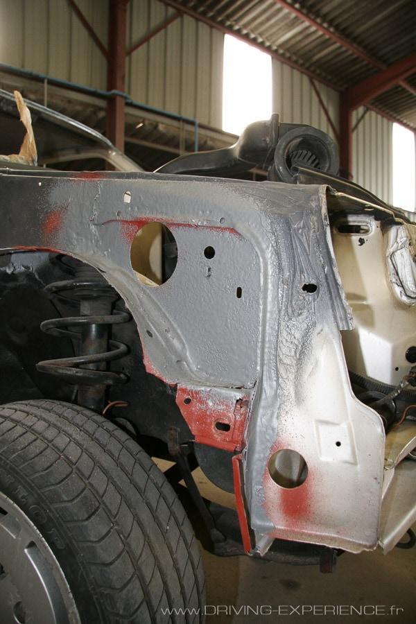 Préparation carrosserie R5 GT Turbo