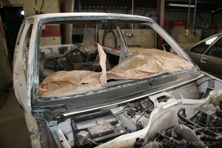 Baie de pare-brise R5 GT Turbo
