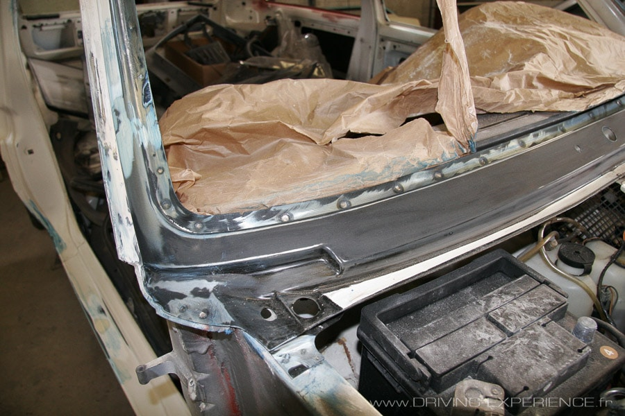 La baie de pare-brise, un grand classique sur les Renault 5