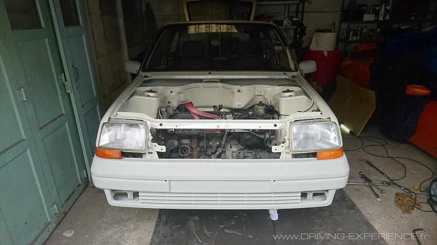Baie moteur R5 GT Turbo