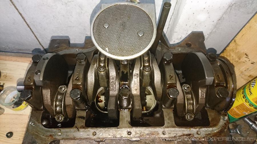 Embiellage et pompe à huile R5 GT Turbo