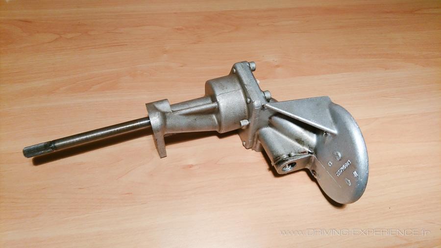 Pompe à huile avant démontage