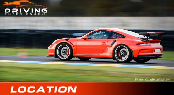 Location Porsche GT3 RS 991