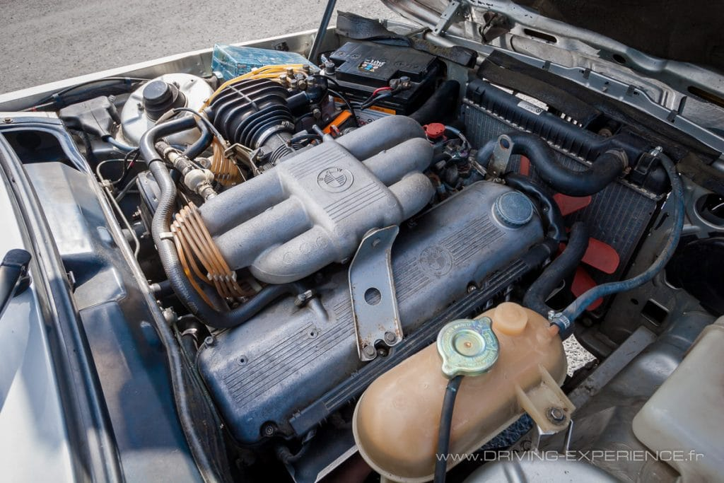 """Le """"M20"""" avec son injection mécanique Bosch K-Jetronic"""