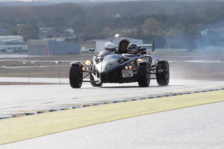 Au circuit Bugatti !