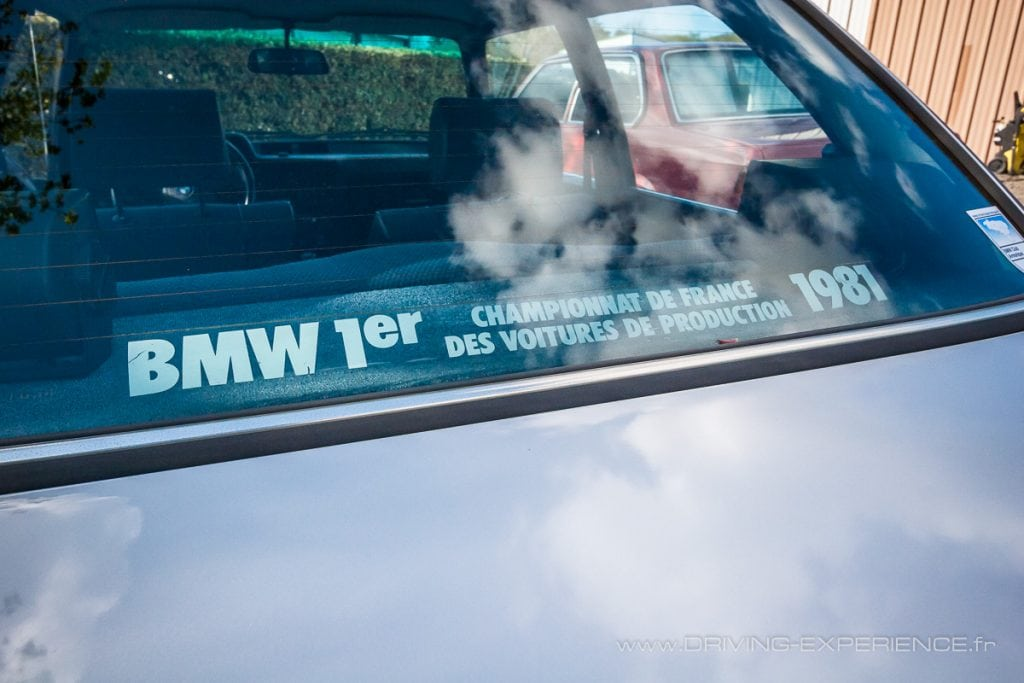 On n'oublie pas le palmarès chez BMW, ADN sportif oblige !