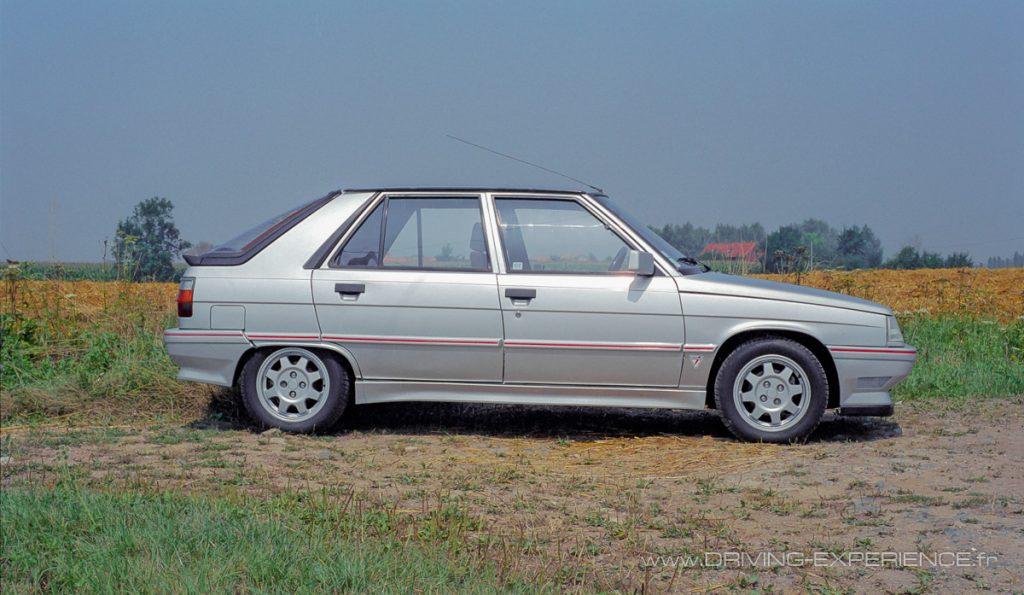 Les sportives compactes en 5 portes étaient rares en 1986, la 11 a su trouver sa clientèle !