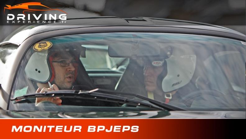 Moniteur sport auto BPJEPS