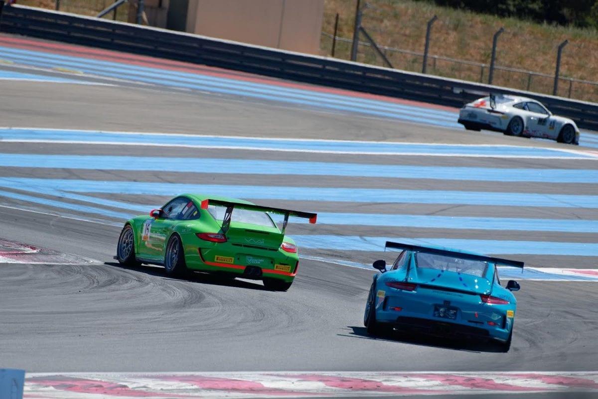Porsche 997 Cup circuit du Castellet